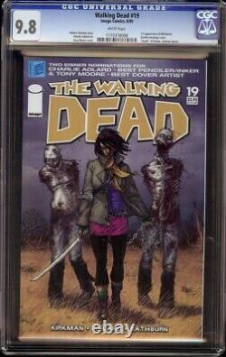 Walking Dead # 19 Cgc 9.8 Blanc (image, 2004) 1er Michonne
