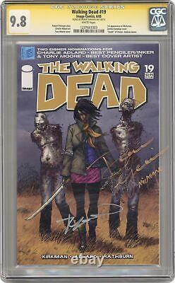 Walking Dead #19 Cgc 9.8 Ss 2005 1237661003 1ère Application. Michonne ( Michonne )