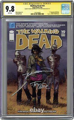 Walking Dead # 19 Cgc 9.8 Ss 2005 1323160008 1ère Application. Michonne