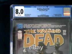 Walking Dead 19 Cgc Graded = 8,0 1er Apparence De La Juste Valeur Marchande Michonne