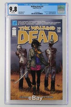 Walking Dead # 19 Photo 2005 Cgc 9.8 1er Comparution De Michonne Hawthorne. Zomb