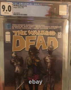 Walking Dead #19 Première Impression Cgc Classé 9e Année