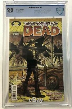 Walking Dead # 1 10/03 Cbcs 9.8