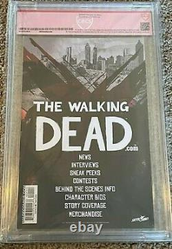 Walking Dead #1 10th Anniversary Edition Cbcs 9.4 Cast Signed Rare