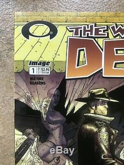 Walking Dead # 1 1st Print Erreur Rare Mature Black Label 1ère Apparition Rick