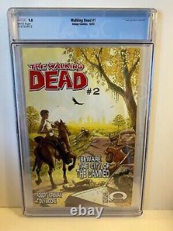 Walking Dead #1 2003 Cgc 9,8