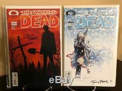 Walking Dead # 1,2,3,4,5,6,7,8,9,10,11 Kirkman Cgc 1ère Épreuve Signée Tony Moore