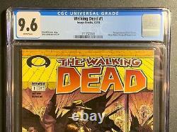 Walking Dead # 1 Black Label De La Première Impression Cgc 9.6 (image Comics 2003) 3710327001