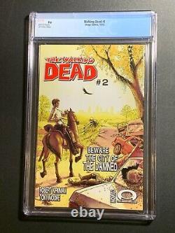 Walking Dead # 1 Black Label De La Première Impression Cgc 9.6 (image Comics 2003) 3710327002