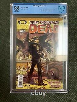 Walking Dead #1 Cbcs 9,8