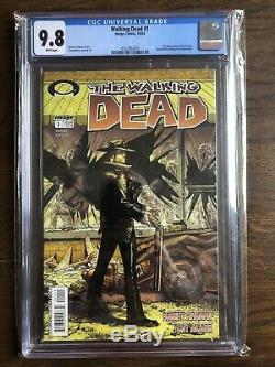 Walking Dead 1 Ccg 9,8 Robert Kirkman. Pages Blanches. (image, 2003)