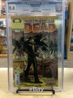 Walking Dead # 1. Cgc 9.4