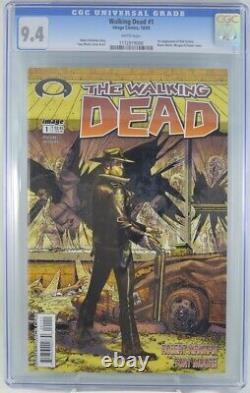 Walking Dead #1 Cgc 9.4 1ère Apparition Rick Grimes 2003