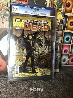 Walking Dead 1 Cgc 9.4 Étiquette Blanche