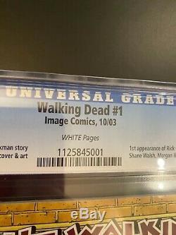 Walking Dead # 1 Cgc 9.4 Nm 1er Imprimer 1er Rick Grimes 2003 Robert Kirkman