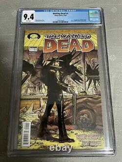 Walking Dead # 1 Cgc 9.4 R. Kirkman (image, 2003) 1ère Apparition De Rick Grimes