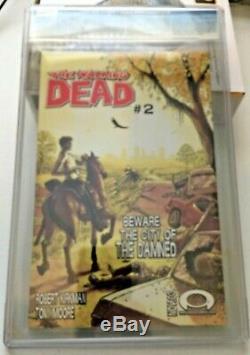 Walking Dead # 1 Cgc 9.6