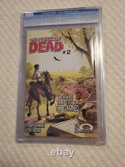 Walking Dead #1 Cgc 9,6