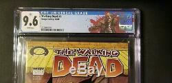 Walking Dead # 1 Cgc 9.6 1er De Rick Grimes Apparence