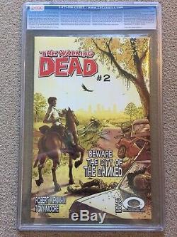 Walking Dead # 1 Cgc 9.6 1er Imprimer Rare 1er Rick Grimes