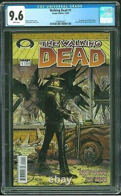 Walking Dead 1 Cgc 9,6 1ère Impression (1ère Apparition Rick Grimes) Image 2003