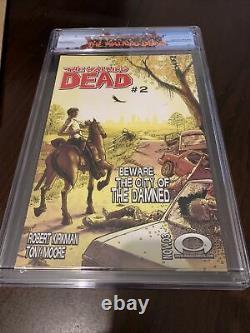 Walking Dead #1 Cgc 9.6 Avec Rick Grimes Label First Print, Première Apparition