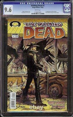 Walking Dead # 1 Cgc 9.6 Blanc (image, 2003) 1ère Apparition Rick Grimes