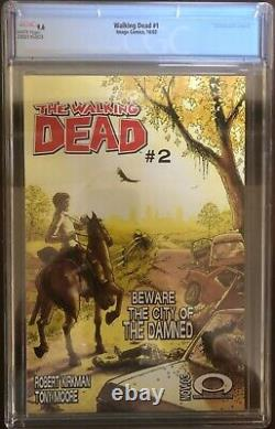 Walking Dead 1 Cgc 9,6. Livre Du Saint Graal Et Moins Cher En Grade Sur Ebay