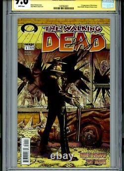 Walking Dead #1 Cgc 9.6 Première Impression! Signé Par Kirkman