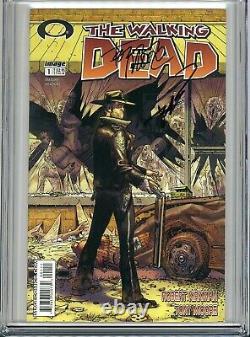 Walking Dead 1 Cgc 9,6 Ss X2 1er Tirage Robert Kirkman Tony Moore Amc Zombies 2 3
