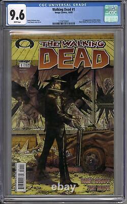 Walking Dead #1 Cgc 9.6 (w)