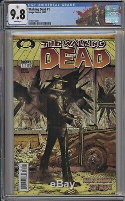 Walking Dead 1 Cgc 9.8 1er Black Label Rick Grimes Robert Kirkman, Tony Moore