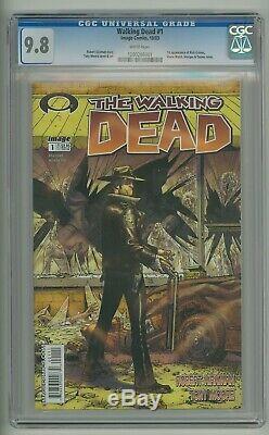 Walking Dead 1 Cgc 9.8 1er Numéro Image Comics 1st Print