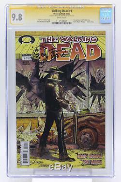 Walking Dead # 1 Cgc 9.8 1ère Apparition De Rick Grimes Image Comics 10/2003
