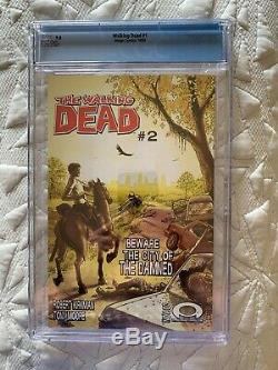 Walking Dead 1 Cgc 9.8 1ère Edition Image Comics 1er Imprimer