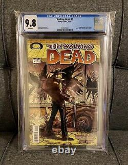 Walking Dead #1 Cgc 9.8 2003 Image Comics Kirkman 1er Premier Rick Grimes