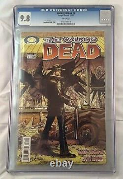 Walking Dead #1 Cgc 9.8 (2003) Image Comics Robert Kirkman Premier Rick Grimes