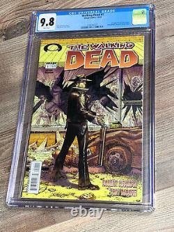 Walking Dead 1 Cgc 9.8 Nm/mt Image 2003 Étiquette Noire Rare