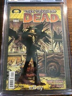 Walking Dead 1 Cgc 9.8 Noir Image