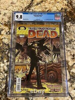 Walking Dead #1 Cgc 9.8 Pages Blanches 1ère Impression 1er Rick Grimes Hot Robert Kirkman