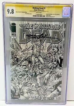 Walking Dead #1 Cgc 9.8 Ss Nm/mt Neal Adams Wwny 2013 Sketch Ltd Edition #7/100