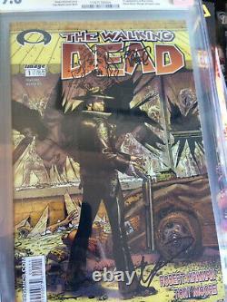 Walking Dead #1 Cgc 9.8 Ss Signé À La Fois Kirk Homme Et Tony Esquissé