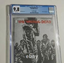 Walking Dead # 1 Cgc 9.8 The Last Wine Edition Variante Rare Kirkman Nouveau Cas