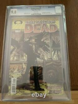 Walking Dead 1 Cgc 9.8 Wp 1 St Print 1st Rick Grimes