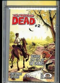 Walking Dead # 1 Cgc Signature Series Graded 9,6 2003 Image Robert Kirkman