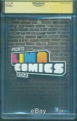 Walking Dead 1 Cgc Ss 9.4 Robert Kirkman Pérou Variante 1 Série Tv N ° 8 Amc