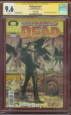 Walking Dead 1 Cgc Ss 9.6 Robert Kirkman Pérou Variante 1 Tv Show No 8 Amc