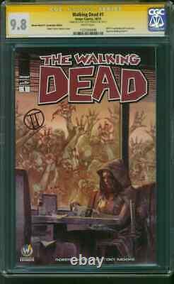 Walking Dead 1 Cgc Ss 9.8 Tedesco Ww Ft. Lauderdale Variante 10/15