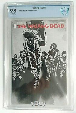 Walking Dead 1 Dernière Vin Variant Cbcs 9.8 Cgc
