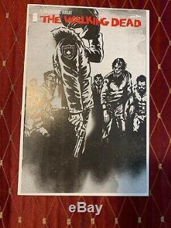 Walking Dead 1 Dernière Vin Variant Extrêmement Rare